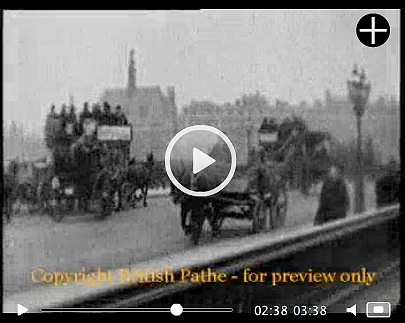 London in the summer of 1905. Just one of the many glimpses of the world we can offer you from the wonderful British Pathé archive